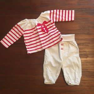 NWOT H&M's Newborn Holiday Outfit